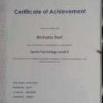Sports Psychology Level 3